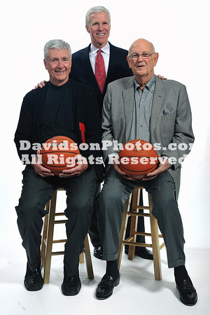 25 February 2011:  Davidson College celebrates the Men of the Lefty Driesell Years at Davidson College in Davidson, North Carolina.