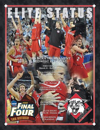 Davidson Commemorative Poster - Elite 8