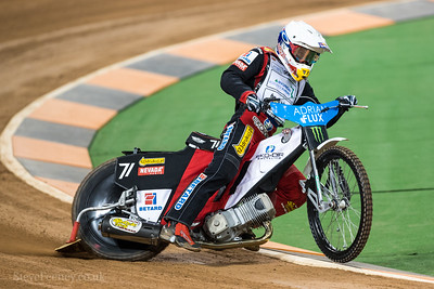 2017 Adrian Flux British FIM Speedway Grand Prix Practice July 21st