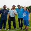 From left to right Bruce Anthony Brown (Bronze Medal), Carl Donalson (Gold Medal), Lee Jarvis (Silver Medal) and Mark Hester.