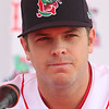 Lowell Spinners Media Day. Catcher-turned-pitcher Danny Bethea. (SUN/Julia Malakie)