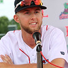 Lowell Spinners Media Day. Outfielder Cole Brannen (18). (SUN/Julia Malakie)