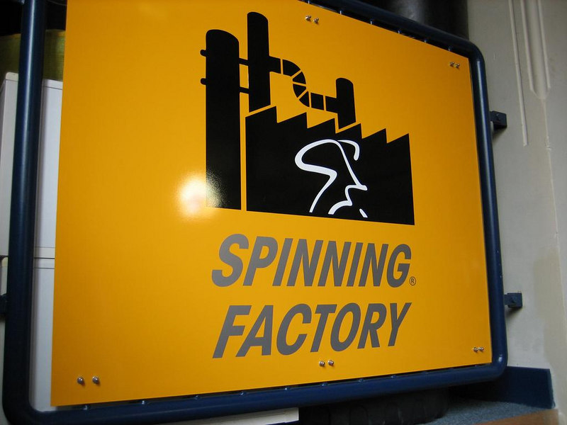 The Spinning Factory at Jack Slagman