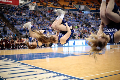 Spirit Squad Basketball Season 2014-2015