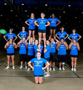 Cheer Team and sparkettes