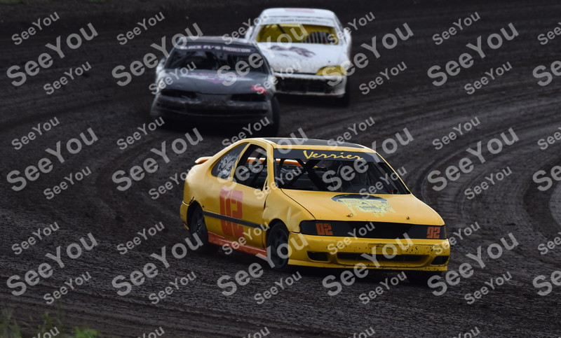 -Messenger photo by Britt Kudla<br /> John Gill compete during Sport Compacts on Sunday at Sport Park Raceway