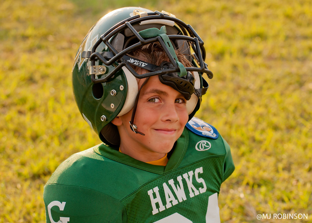 Youth Football Player.