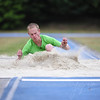 Bram Ruissen training for the long jump (Sportcentrum Papendal, Arnhem)