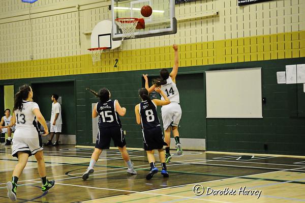 Basketball Féminin div2 26 octobre  2014