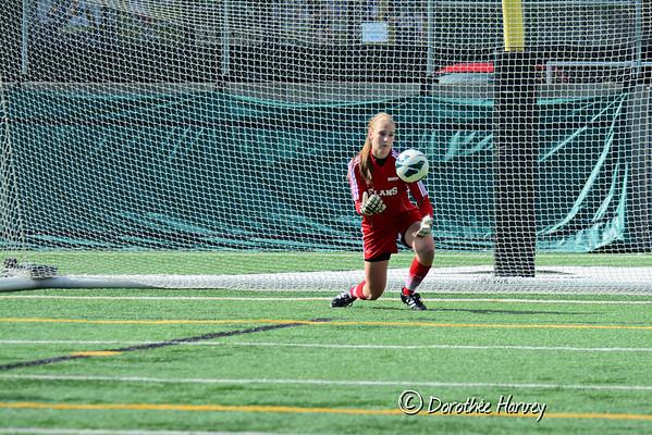 Soccer féminin div1 14 septembre 2014