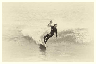 Dave Harper had a great surf session at El Porto with the Silicon Beach LA Surf Group.
