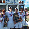 2009 State Champions (4-peat):  Chris Schlabach, Thomas Fanjoy, Sawyer Voges, William Disterdick, Nathan Winters, Taylor Rogers