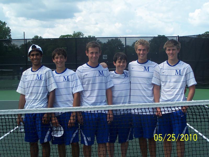 2010 State SemiFinalists:  Zeshan Ismail, Bobby Brouner, Logan Yerbey, Daniel Pare, Scotty Webb, Evan Watkins