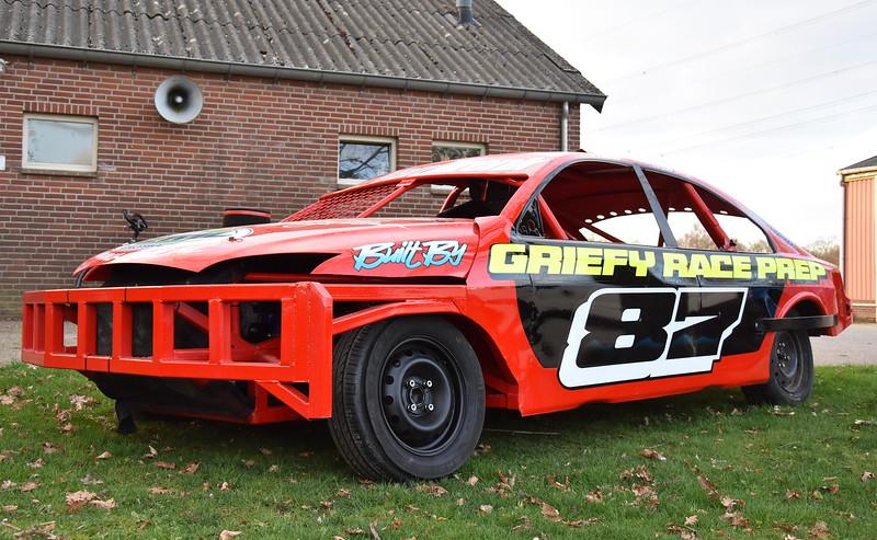 Nieuwe auto Robin van Brenk-Jeremy van der Kraats