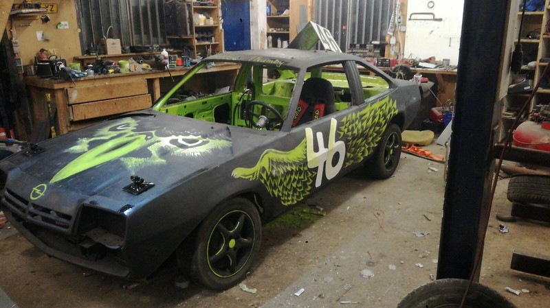 Nieuwe auto Bram van der Kaa