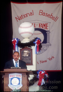 Reggie Jackson Hall of Fame Induction