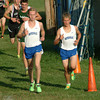 Staff photo by Bryan Helvie<br /> Top finishers: Cole Nuhring (left) and Caleb Moster were the top two finishers for the Bulldogs at the BHS invitational.