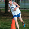 Staff photo by Bryan Helvie<br /> Bulldog: Batesville runner Alex Batta placed 34th in the field of 76 runners at the Greensburg Invitational.