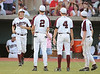 Pearland's Oilers host the Bucaneers of Clute's Brazoswood at University of Houston's Cougar Field for Texas UIL Division 5A Region III Round 5 (Regional Final) baseball playoffs, in game 1 of best of three 3. Pearland wins in two games and advances to state.