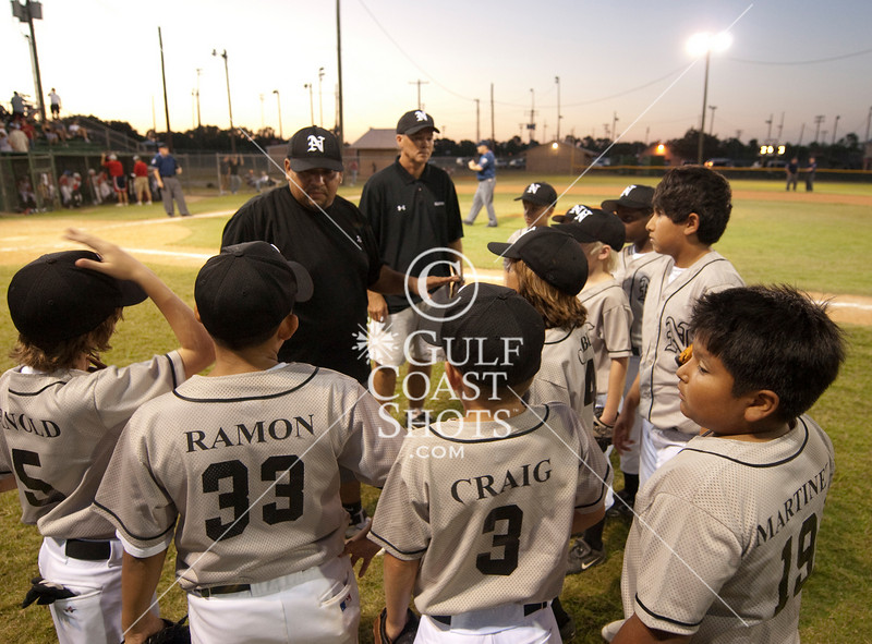 Bayland Park LL All-Stars host Neartown in a 10-year-old Little League playoff game, Division 16, Game 20. Neartown won 3-2 in a game with some rule-check timeouts.