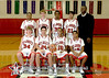 Houston-based St. John's School's upper-school boys basketball players pose for team and individual portraits. There are three teams in upper school: varsity, JV1 and JV2.