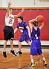 Houston-based St. John's School's 8th grade boys basketball team hosts Kinkaid. SJS prevails in a close game.