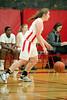 Houston-based St. John's School upper-school Varsity girls' basketball team hosts Christian Home-School Athletics. SJS wins.