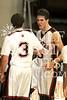 Houston-based St. John's School's boy's varsity basketball team hosts Austin's St. Stephens ad Liu Court on Friday, Jan 9, 2009 for the season's first  conference game. SJS won.