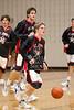 Houston-based St. John's School upper-school Varsity boys basketball team hosts Episcopal High School. SJS wins.