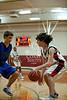 Houston-based St. John's School upper-school Junior Varsity boys basketball team hosts the Christian Homeschool Youth Athletics