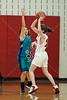 Houston-based St. John's School upper-school Junior Varsity girls basketball team hosts the Christian Homeschool Youth Athletics Lady Warriors
