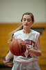 Houston-based St. John's School upper-school Junior Varsity girls basketball team hosts the Christian Homeschool Youth Athletics Lady Warriors