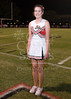 Houston-based St. John's School's Girls JV Cheerleading team poses for portraits during the SJS v EHS varsity football game