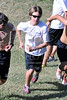 St. John's School Houston SJS Upper School Cross Country team practices along Buffalo Bayou