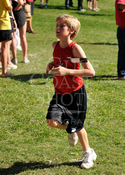 Houston-based St. John's School hosts a cross-country set of races for regional schools at Buffalo Bayou Park in Houston, Oct 18, 2008.