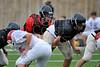 St. John's School Houston SJS JV2 Football team plays St. Thomas High School JV2 team