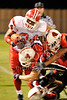 Houston ISD's Bellaire High School visits Alief Taylor at Butler Stadium for a season opener on 8/28/08, losing 27-6.