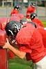 Houston's Saint John's School Upper School Junior Varsity JV2 Football Team practices