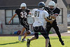 St. John's School Houston SJS 8th Grade Football team hosts the Second Baptist Eagles