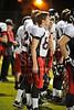 St. John's School Houston SJS Varsity Football team plays St. Thomas High School