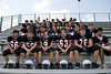 Houston's Saint John's School Middle School 8th grade Football Team poses for individual and team portraits