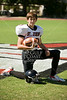 St. John's School Houston individual fall football team portraits