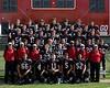 St. John's School Houston Varsity fall football team portraits
