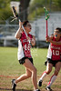 St. John's School hosts Bellaire High School for a JV2  girls lacrosse game. BHS wins.