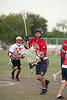 Houston's St. John's School's varsity Mavericks host the Redskins of Lamar in a varsity boys lacrosse competition. The Mavs won in regulation.