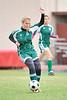 Houston-based St. John's School upper-school JV girls' soccer team hosts Awty International School. SJS wins in a shootout.