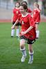 Houston's St. John's School's girls' 7th grade soccer team hosts St. Francis Episcopal School's Wolves