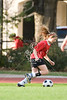 Houston's St. John's School's girls' 7th grade soccer team hosts St. Francis Episcopal School's Wolves