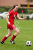 Houston-based St. John's School's upper-school Varsity girls soccer team hosts Austin's St. Andrew's School in opening weekend of SPC Conference play at Scotty Caven Field. SJS wins.