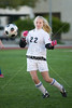 Lutheran North upper school's JV soccer team plays the Lady Mavericks of St. John's.